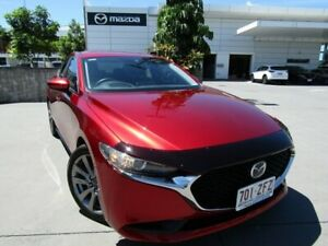 2019 Mazda 3 BP2S7A G20 SKYACTIV-Drive Evolve Red 6 Speed Sports Automatic Sedan