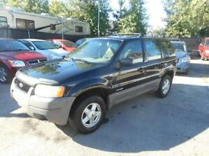 2001 Ford Escape 4x4 XLS ( 4x4 - AUTOMATIQUE - WOW )