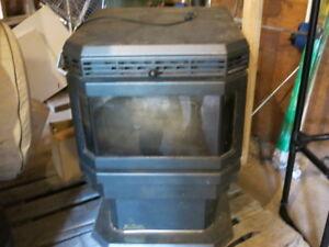 Enviro Fire pellet stove for sale