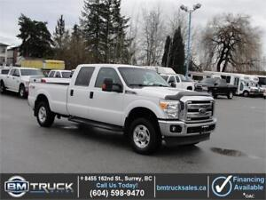 2015 FORD F-250 SUPER DUTY XLT CREW CAB LONG BOX 4X4
