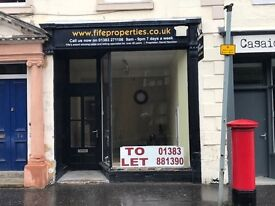 SHOP TO RENT DUNFERMLINE OFFICE / RETAIL