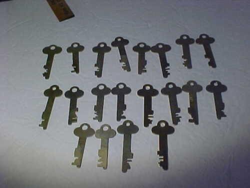 20 Safety Deposit Box Key, 1960