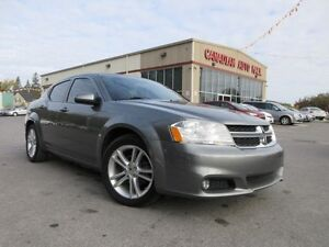 2012 Dodge Avenger SXT, AUTO, A/C, ALLOYS, LOADED!