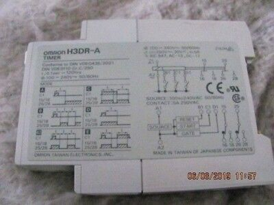 Omron Timer H3dr-a