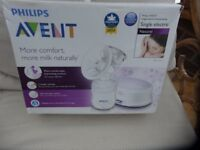PHILLIPS AVENT Single Electric Breast Pump Hardly used