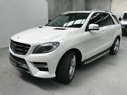 2012 Mercedes-Benz ML350 W166 BlueTEC 7G-Tronic + White 7 Speed Sports Automatic Wagon Coburg North Moreland Area Preview