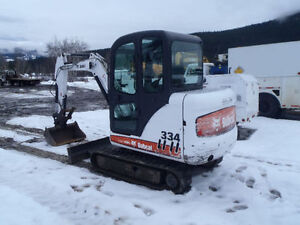 FOR SALE 2006 BOBCAT EXCAVATOR