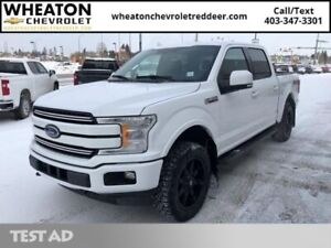 2018 Ford F-150 Lariat  Leather, Heated and cooled seats