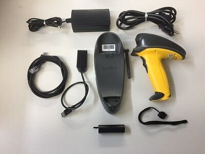 Symbol P370-sr1211100us Scanner Kit Complete Great Condition Pos Quick Books