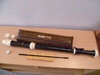 Aulos tenor recorder 511B -brand new and unplayed (unwanted gift) -less than 1/2 new price