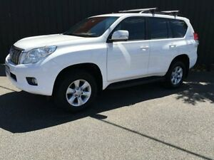 2011 Toyota Landcruiser Prado KDJ150R GXL Glacier White 5 Speed Automatic Wagon Moorabbin Kingston Area Preview