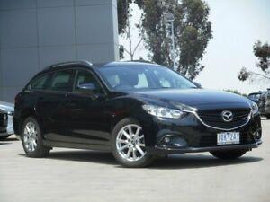 2014 Mazda 6 GJ1031 Sport SKYACTIV-Drive Black 6 Speed Sports Automatic Wagon Ravenhall Melton Area Preview