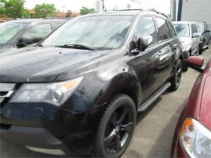 acura mdx 2008 AWD leather,roof,7seats,running borad,warranty