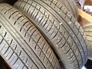 "Kingstan Centum 14"" tires, lots of tread, 185-70R-14"
