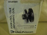 Door lock hole reforming tool Sykes-Pickivant