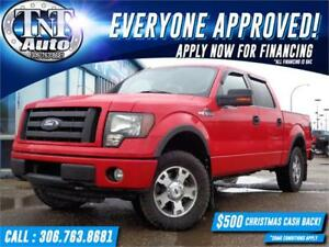 2010 Ford F-150 FX4 CREW 4X4 POWER SUNROOF