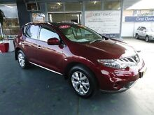 2012 Nissan Murano Z51 MY12 TI Maroon Continuous Variable Wagon Hamilton Newcastle Area Preview