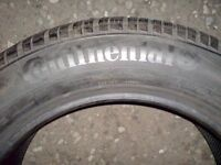 Continental winter contact 205.55.16 94v extra load tire x 1 brand new