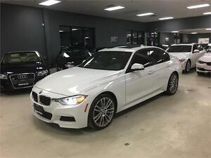 2013 BMW 3 Series 335i xDrive**M-SPORT**6SPEED**WHITE ON RED!!