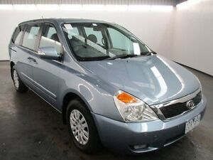 2012 Kia Grand Carnival VQ MY13 S Blue 6 Speed Automatic Wagon Albion Brimbank Area Preview