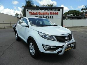 2013 Kia Sportage SL MY13 SI White 6 Speed Sports Automatic Wagon Caboolture South Caboolture Area Preview