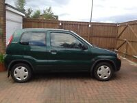 Suzuki Ignis. 2002. Excellent condition. Low miles.