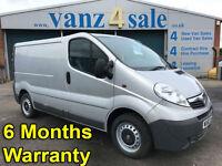 2012 - Vauxhall Vivaro 2.0CDTi ( 90ps ) ( EU V ) 2012MY 2700 EcoFLEX SWB