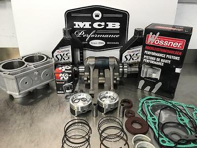 2008 POLARIS RAZOR 800 COMPLETE ENGINE REBUILD CRANK PISTON  GASK CYL oil filter
