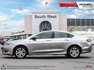 2015 Chrysler 200 Limited | 8.4 Screen | uConnect | Heated Seats