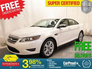 2010 Ford Taurus Limited AWD *Warranty*