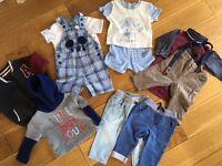 Baby boy 3-6months clothes bundle