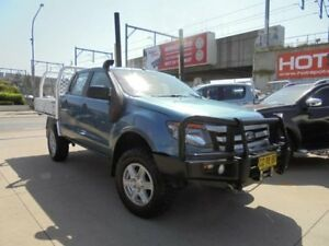 2012 Ford Ranger PX XL Blue Sports Automatic Cab Chassis Granville Parramatta Area Preview