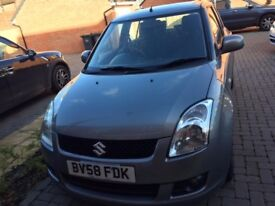 Suzuki Swift 2009 Automatic 1.5L petrol