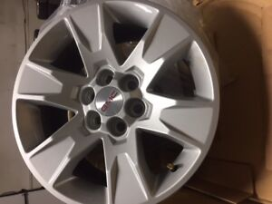 2017 GMC Canyon 17 inch Alloy wheels only