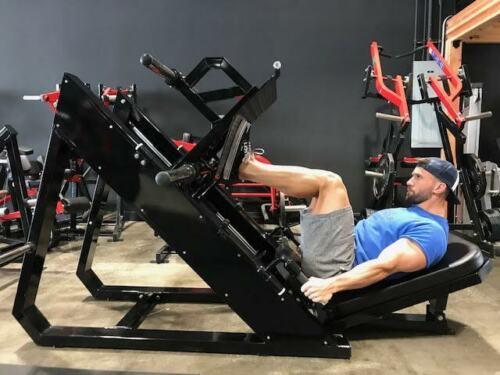 Commercial 45 Degree Angle Leg Press
