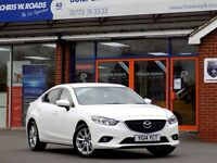 MAZDA 6 2.2 D SE-L 4dr (150) *Diesel Saloon Superb Economy (white) 2014