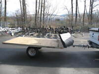 """12' drive on off Snowmobile trailer """"NEW"""""""
