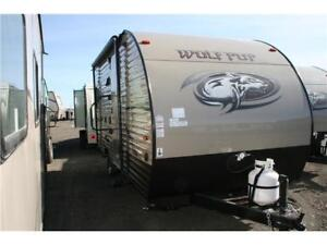 CLEARANCE!BRAND NEW FLOOR PLAN!!2016 WOLF PUP 17CJ!!