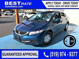 HONDA CIVIC - APPROVED IN 30 MINUTES! - ANY CREDIT LOANS