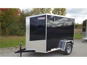 Enclosed Cargo Trailer - 5x8 Pace American Cargo Trailer