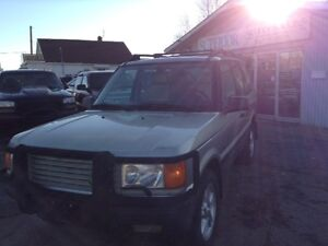 1999 Land Rover Range Rover HSE vehicle selling as is!
