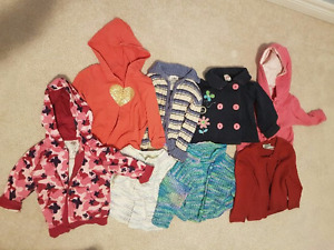 12-18 month girls sweaters/cardigans