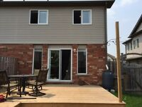Beautiful Townhouse with all the goods in Huron Park Area