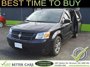 2010 Dodge Grand Caravan SE with STOW-N-GO - OWN FOR $47/week