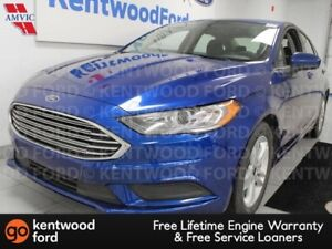 2018 Ford Fusion SE FWD, sunroof, keyless entry, power seat, pus