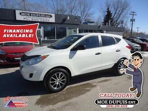 2010 Hyundai Tucson GL, ECONOMICAL ALL WHEEL DRIVE!