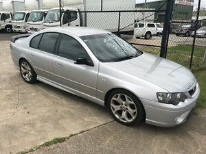 2005 Ford Falcon BF XR6 Silver 6 Speed Auto Active Select Sedan Loganholme Logan Area Preview