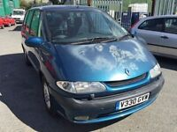 Renault Espace 7 seater diesel, starts and drives well, car located in Gravesend Kent, no MOT, any q