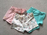 NEXT Shorts 3 pack NEW with tags Age 9 years