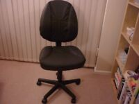 New Leather operators chair